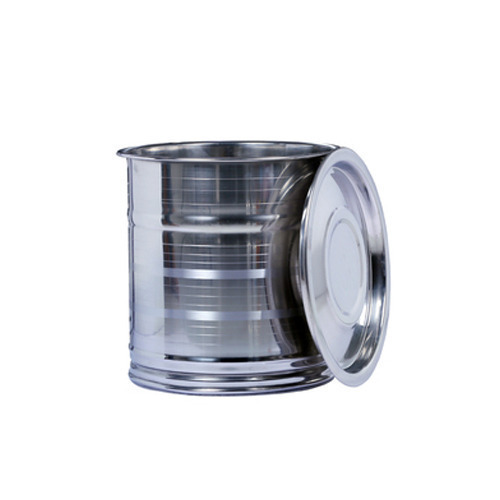 Stainless Steel Pawali With Lid