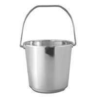 Plain Stainless Steel Bucket