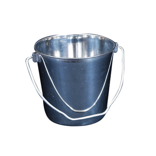 Round Stainless Steel Bucket