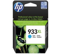 HP 933 XL CYAN INK CARTRIDGE (CN054C)