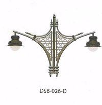 French Antique Cast Iron Street Bracket