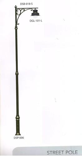 Artistic Design Cast Iron Street Pole