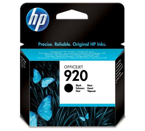 HP 920 BLACK  INK CARTRIDGE (CD971AA)