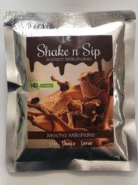 Mocha Milkshake Back