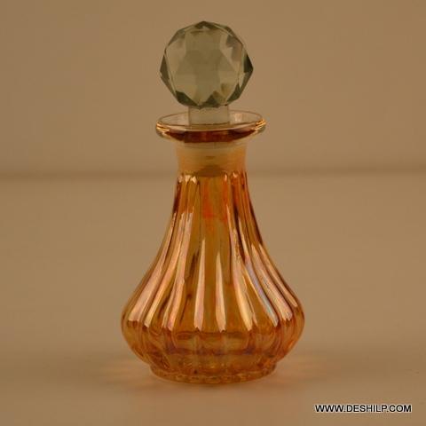 COLOR GLASS PERFUME BOTTLE