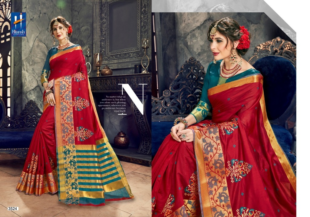 Latest Banarasi Cotton Silk Sarees