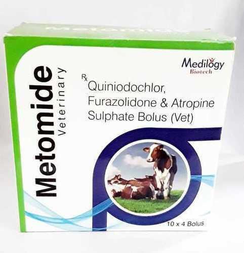 Quiniodochlor, Furazolidone & Atropine Sulpahte