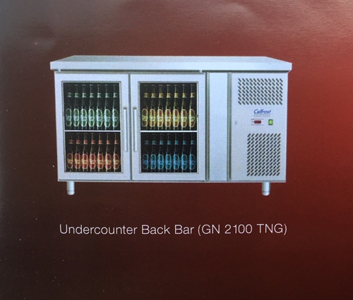 Two Door Undercounter Back Bar Chiller (GN 2100 TNG) (Celfrost)