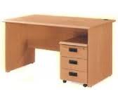 Single Pedestal Office Desk