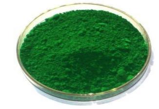 Green 7 Chrome Pigment