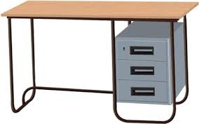 Iron Office Table