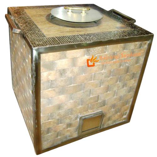 Stainless Steel Tiles Tandoor