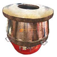 Brass Round Tandoor