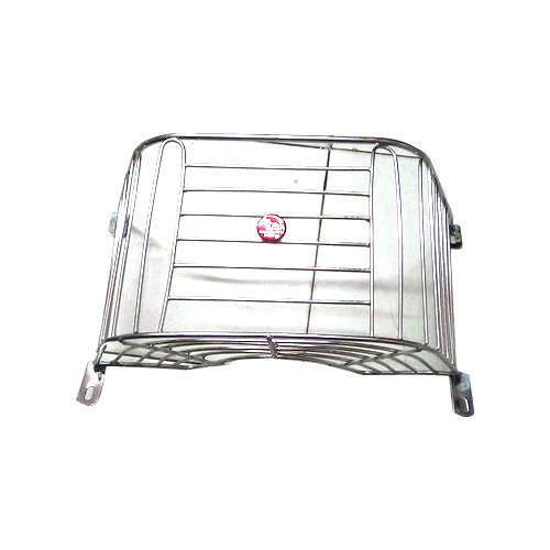 Two Wheeler Steel Basket