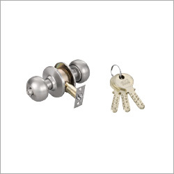 3 Brass Ultra Key Cylindrical Locks