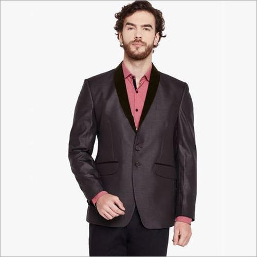 Mens Dark Brown Blazer