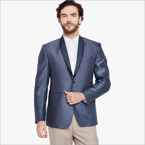 Mens Dark Grey Blazer