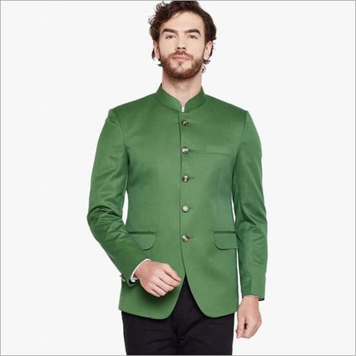 Mens Green Blazer
