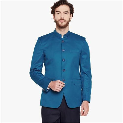 Mens Sky Blue Blazer