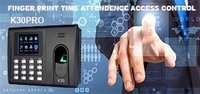 K30 PRO TIME ATTENDANCE  AND ACCESS CONTROL
