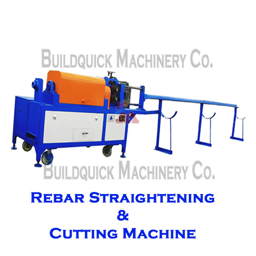 Rebar Straightening & Cutting Machine