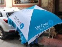 Square Promotional Umbrella Coloured