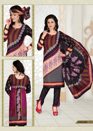 Printed Cotton Dress Salwar Kameez