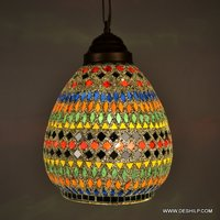 GLASS HANGING,MOSAIC DECORATIVE RESIDENTIAL HANGING,GLS HANGING,FROST GLS HANGING,MOSAIC CUT HANGING,LUSTER HANGING