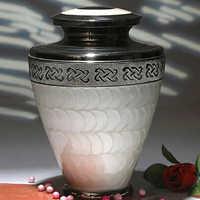 Designer Aluminium Cremation Urn