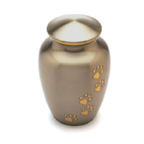Paw Printed Pet Urn