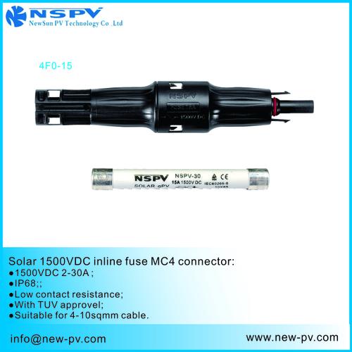 NSPV 1500V Fuse Connector