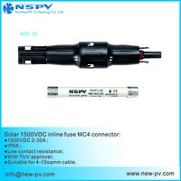 NSPV PV4.0 1500V DC Fuse Connector