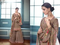 Designer Pakistani Sharara Suits