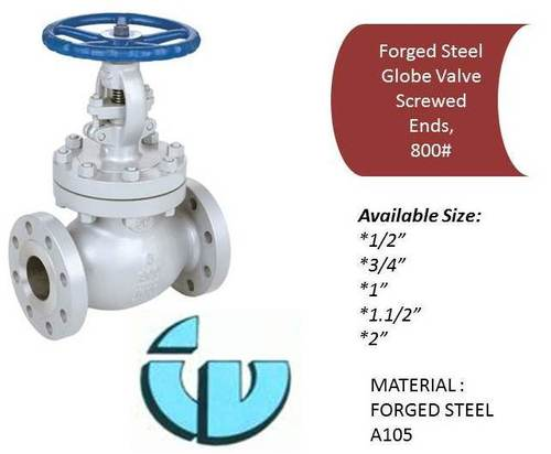 Forged Steel Globe Valve Class800, A105