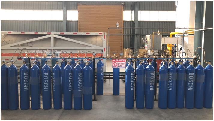 Medical Oxygen Cylinder Filling Plant