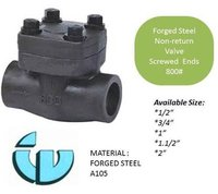 Forged Steel Non-return Valve Class800 A105
