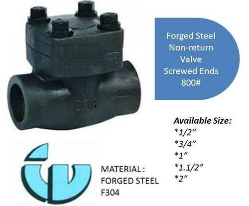 Forged Steel Non-Return Valve Class800 F304
