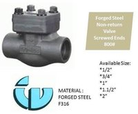 Forged Steel Non-Return Valve, Class800 F316
