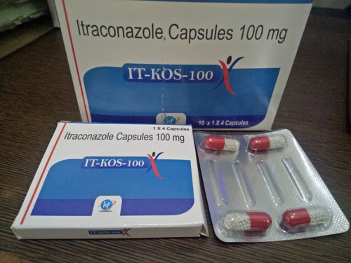 PCD IN ITRACONAZOLE 100 CAPSULE