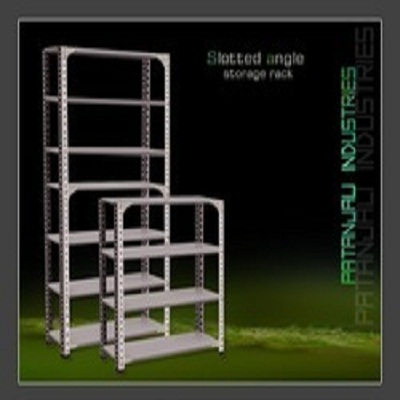 Colour Coated Slotted Angle Rack