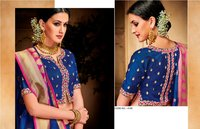 Traditional Jacquard Silk  Sarees
