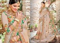 Designer Pure Organza Silk  Sarees