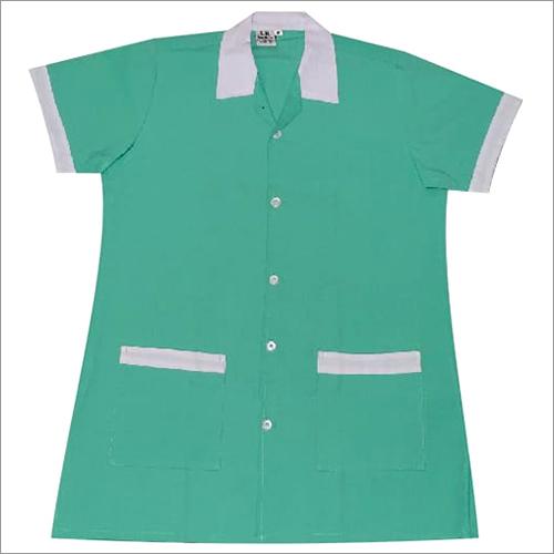 Green Nurse Dress