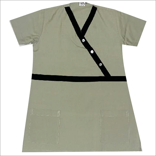 Olive Green Nurse Dress