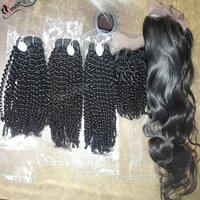 Curly Wave Indian Human Hair