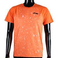 Li-Ning Men's Round Neck T-Shirt Neon Orange