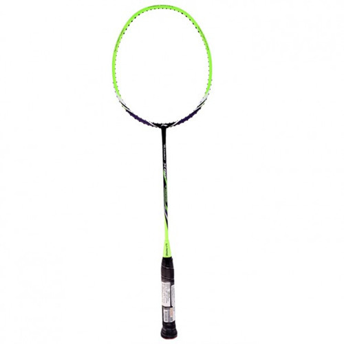 Li-Ning Turbo X 80 Badminton Racket - Green and Black Colour