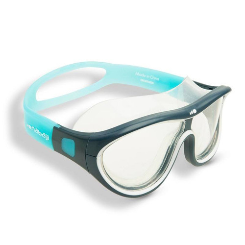 Nabaji Swimdow Swimming Mask Size L - White Blue