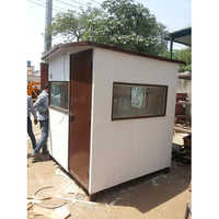 6x6x7 Height Security Cabin