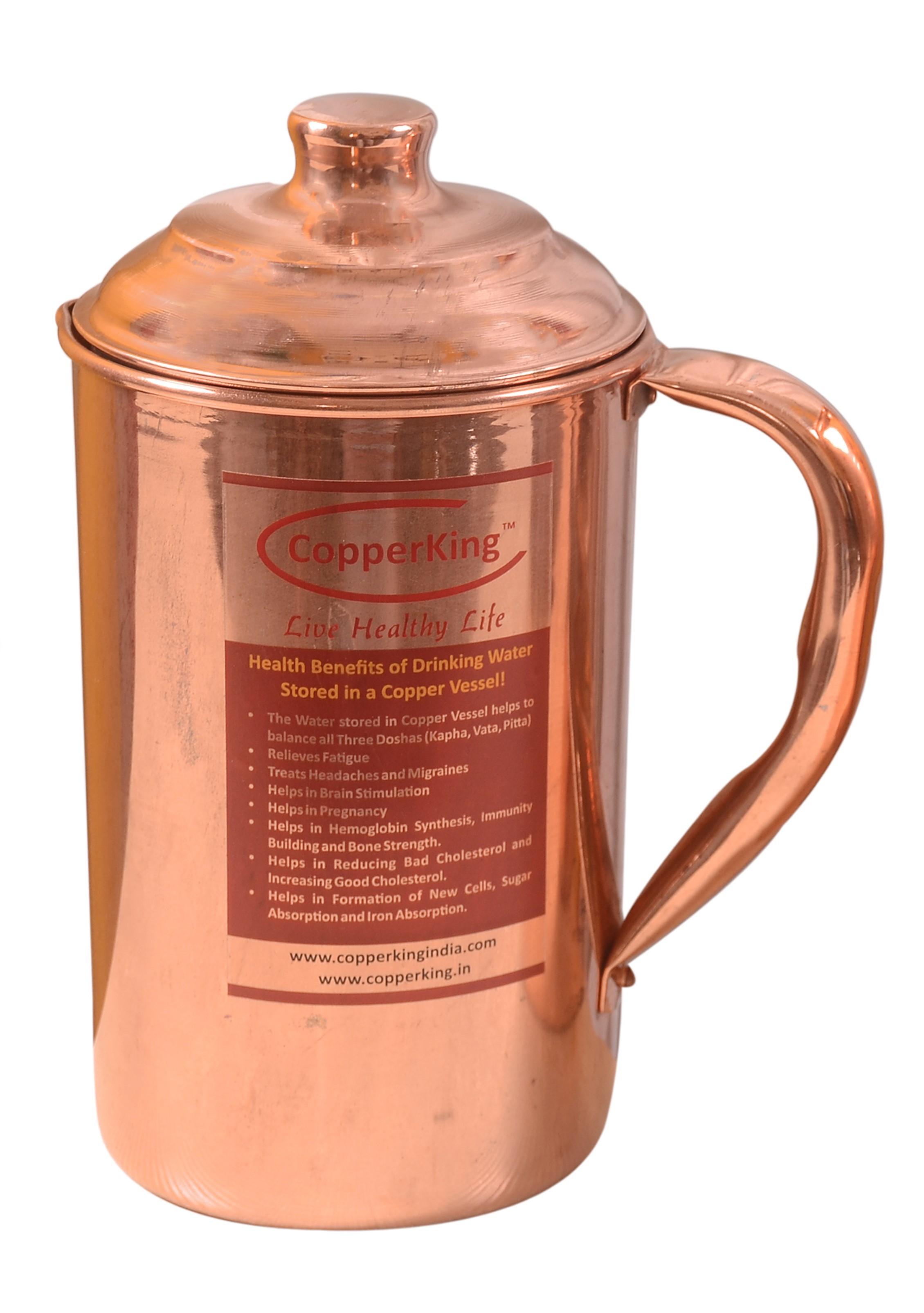 Pure Copper Jug (Sliver Tough)